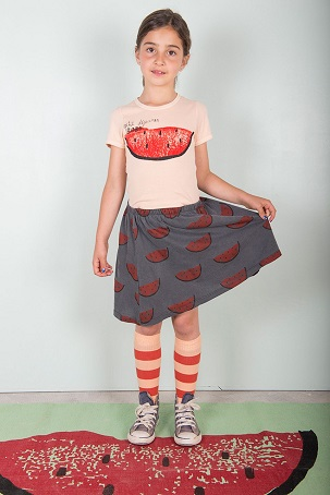 Watermelon T-shirt & skirt