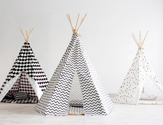 Nobodinoz Teepees for Prettier Playrooms & Pleasant Playtime