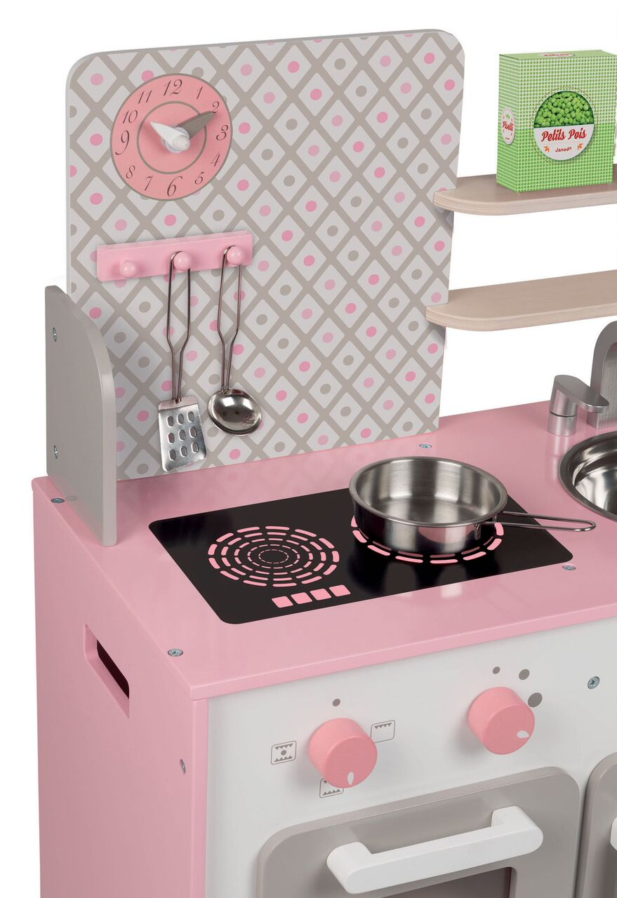 cute girly janod kitchen toy