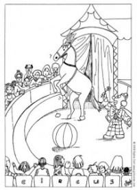 Disegni da colorare : Il circo | MAMMA E CASALINGA