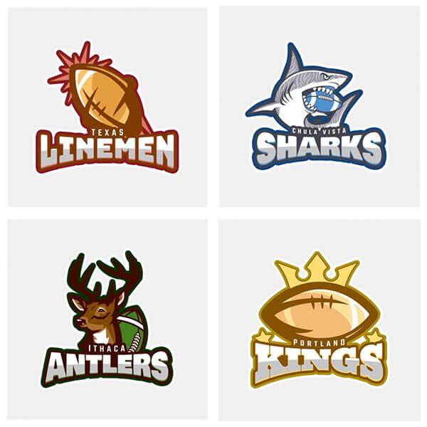 Football Logo Maker Create Team Logos in Seconds - Placeit Blog