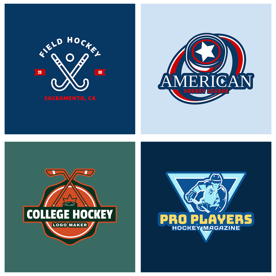 Hockey Logos Design An Impressive Hockey Logo To Represent Your Team Placeit Blog