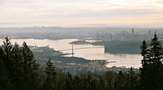 Region Vancouver Birds eye 40 Years of Changing Attitudes in Metro Vancouver
