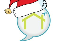 PlaceSpeak Logo - Santa Hat