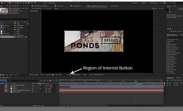 10 Tips for Increasing Your Productivity in After Effects Pond5