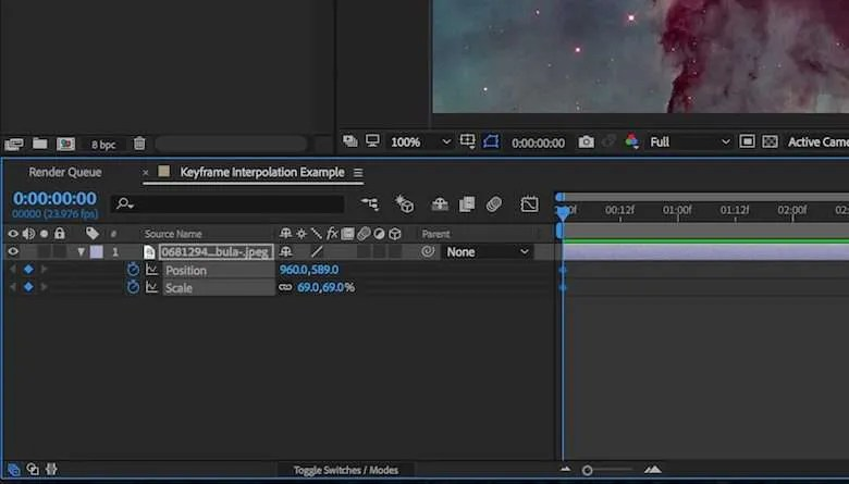 A Guide to Basic Keyframing in Adobe After Effects Pond5