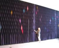 3D Felt Wall Coverings - Ponoko Ponoko