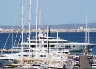 "Luxus Motoryacht ""MOGAMBO"" Palma de Mallorca Chareterpreis 550.000€ pro Woche"