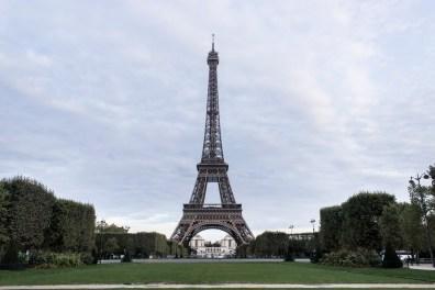 Eiffelovka v 7 ráno