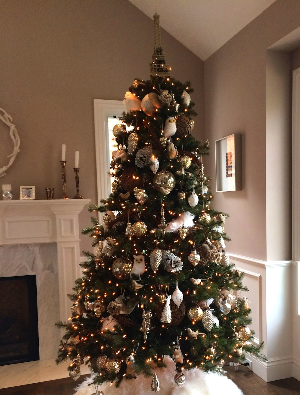 pottery barn christmas tree whether it s in the magazine or in the store they re always festive fun and styled to perfection