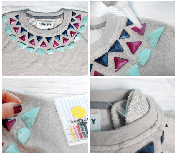 embellish shirt diy