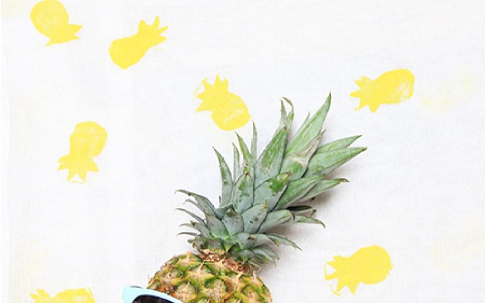 Pineapple ScarfFEATURE