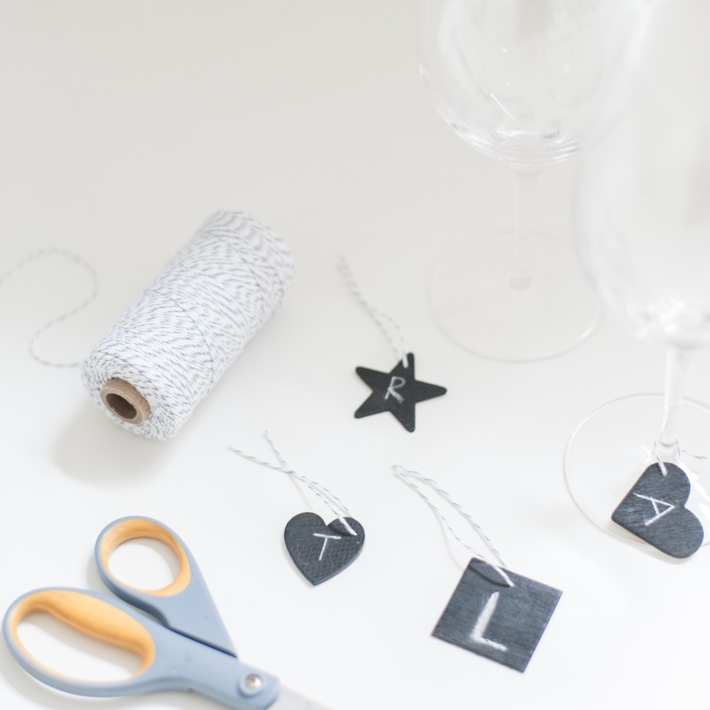 Chalkboard Wine Tags (6)