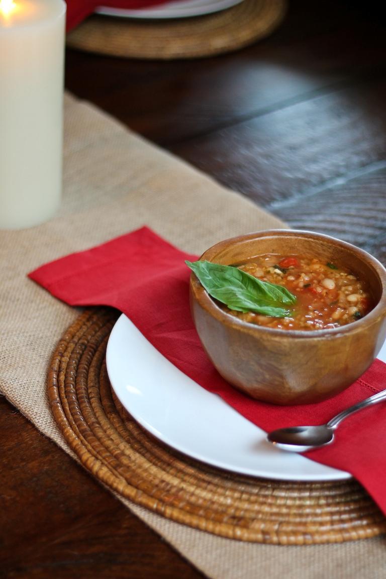 White Bean Tomato Soup 2
