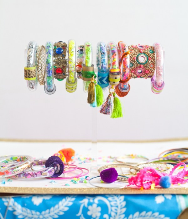 Best Friends For Frosting Confetti Bracelet DIY