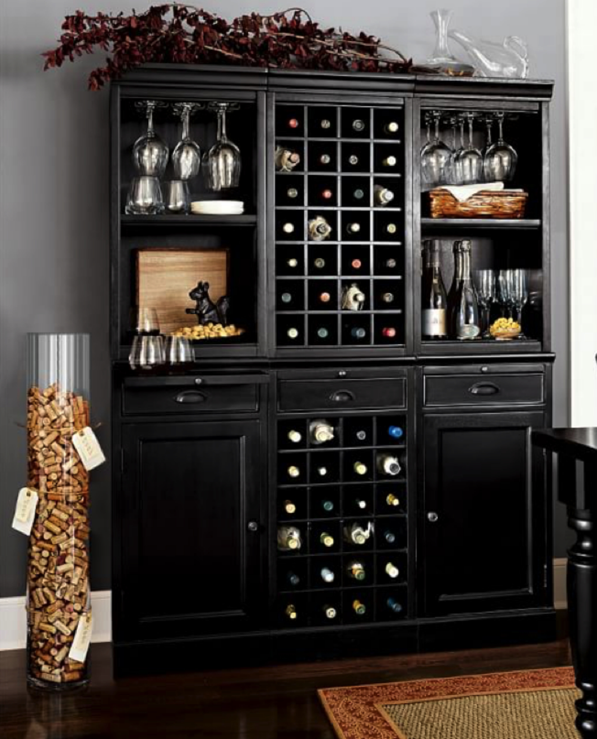 Wine Bar Decorating Ideas Home: Quick Tips For Displaying & Organizing Your Collections
