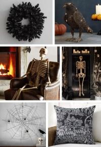Frightful & Friendly Halloween Front Door Dcor - Pottery Barn