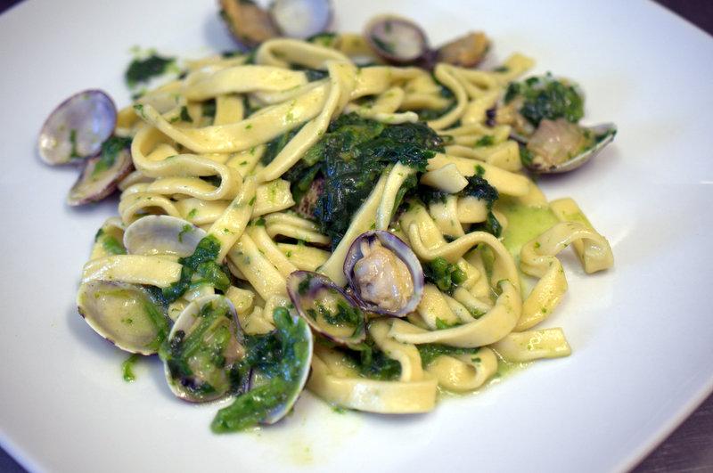 Scialatielli broccoli e vongole