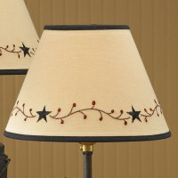 country lamp shades Archives - Primitive Home Decors
