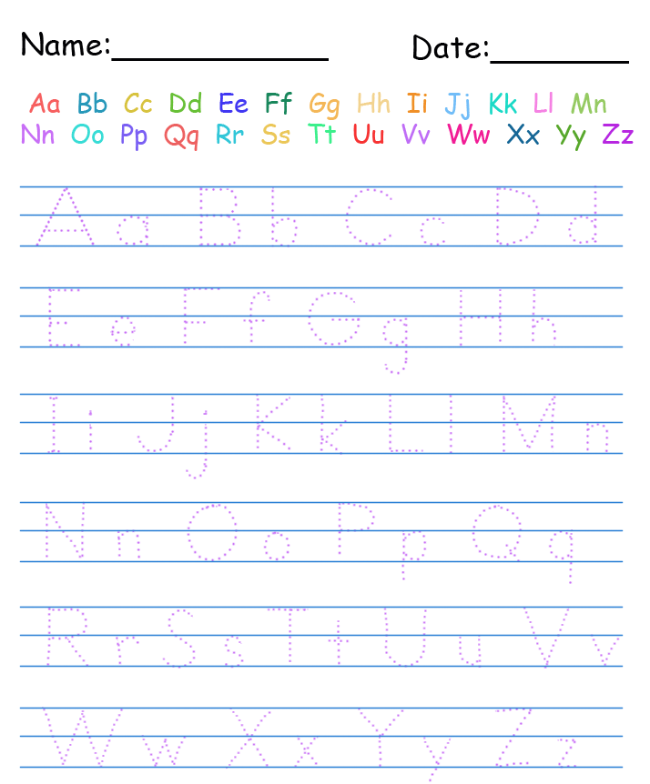 Free Printable Handwriting Worksheets For Kindergarten Scalien – Worksheets for Kindergarten Writing
