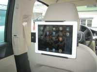 iPad Headrest Mount, iPad Dashboard Mount & iPad Table Stand