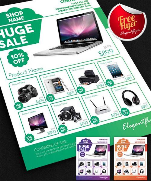 50+ Corporate Flyer Design Inspiration for Saudi Companies - promotional flyer designs