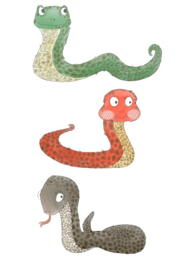 Adam the Snake 2 - colour ideas