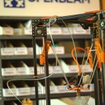 Openbeam Kossel Pro 150x150 Kossel 3D Printer (Rostock 3D Printer) using Openbeam Extrusions