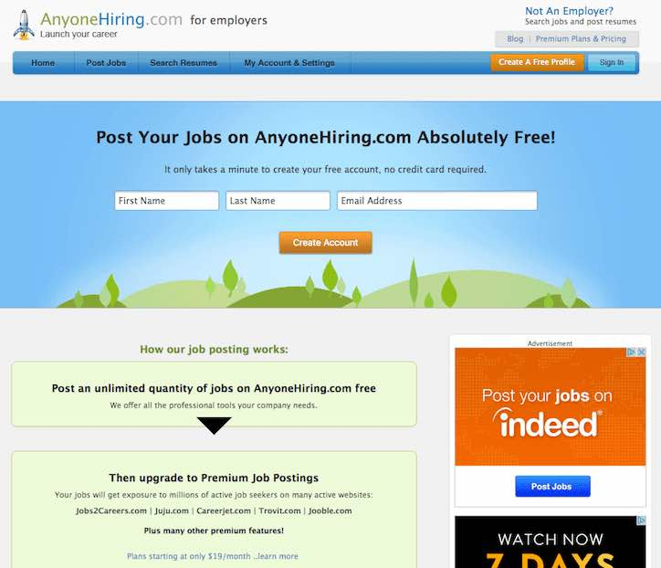 Your Next Hire is Here (30+ Job Sites to Recruit for Free) \u2013 Proven - best sites to post resume