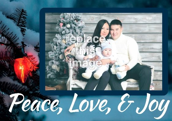 25 Beautiful (and Free) Christmas Photo Card Templates PsPrint