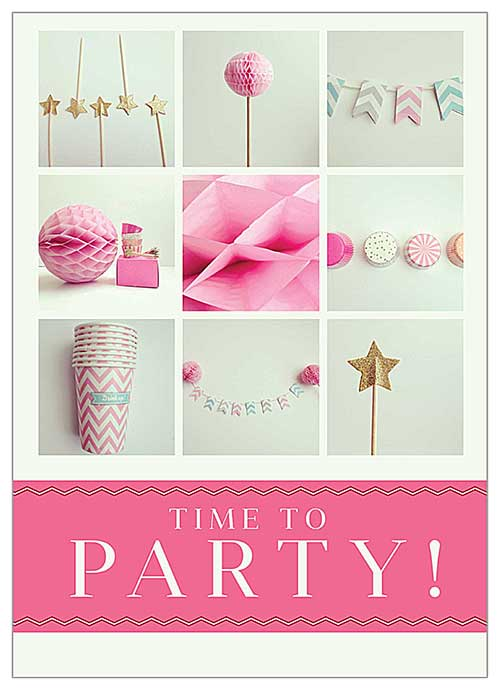 10 Amazing (and Free) Birthday Invitation Card Templates PsPrint Blog