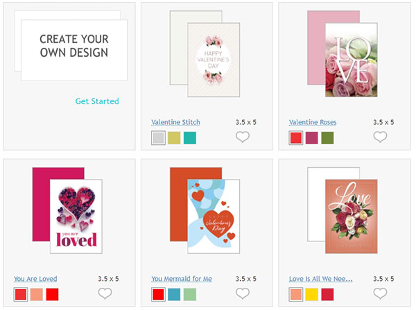How to Make Your Own Custom Valentine\u0027s Day Cards Online PsPrint