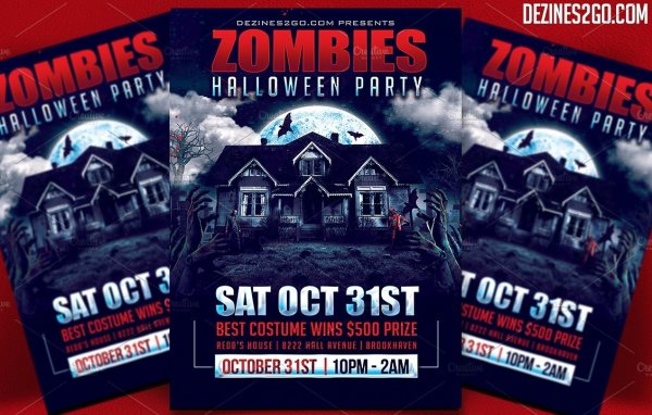 20 Wicked Halloween Party Flyer Templates for Your Inspiration