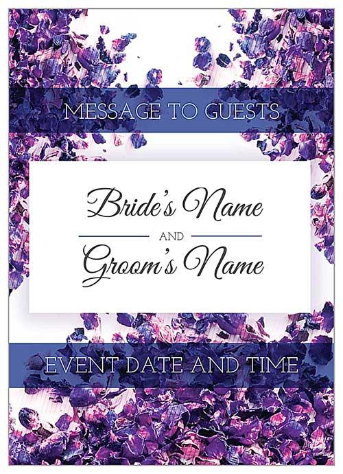 10 Beautiful (and Free) Wedding Invitation Card Templates PsPrint Blog - free wedding invitation card templates