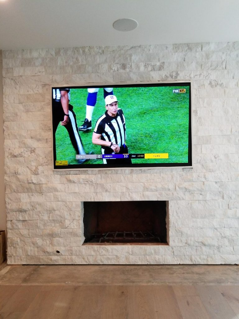 Fireplace Tv Mount Mounting A Tv On Brick Fireplaces The Dos Don Ts