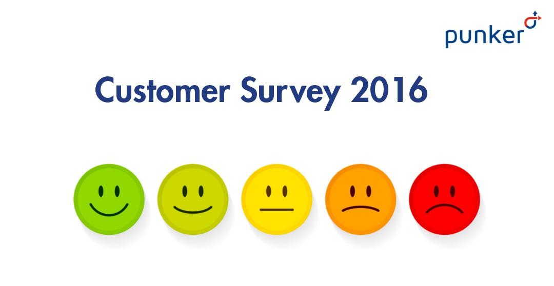 punker Customer Survey 2016