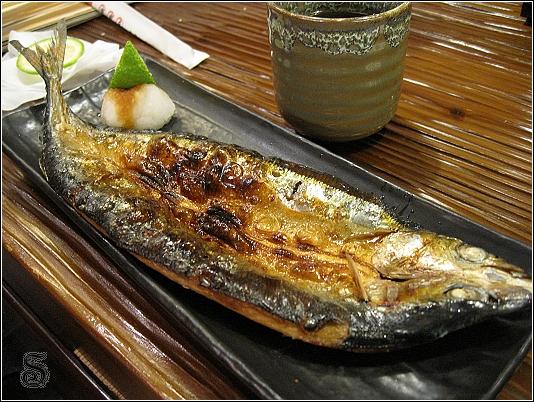烤鯖魚,我喜歡吃這種烤的魚