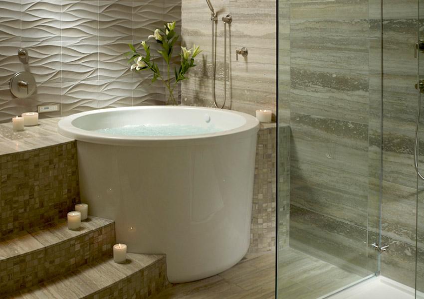Whirlpool Tub With Heater - Facias
