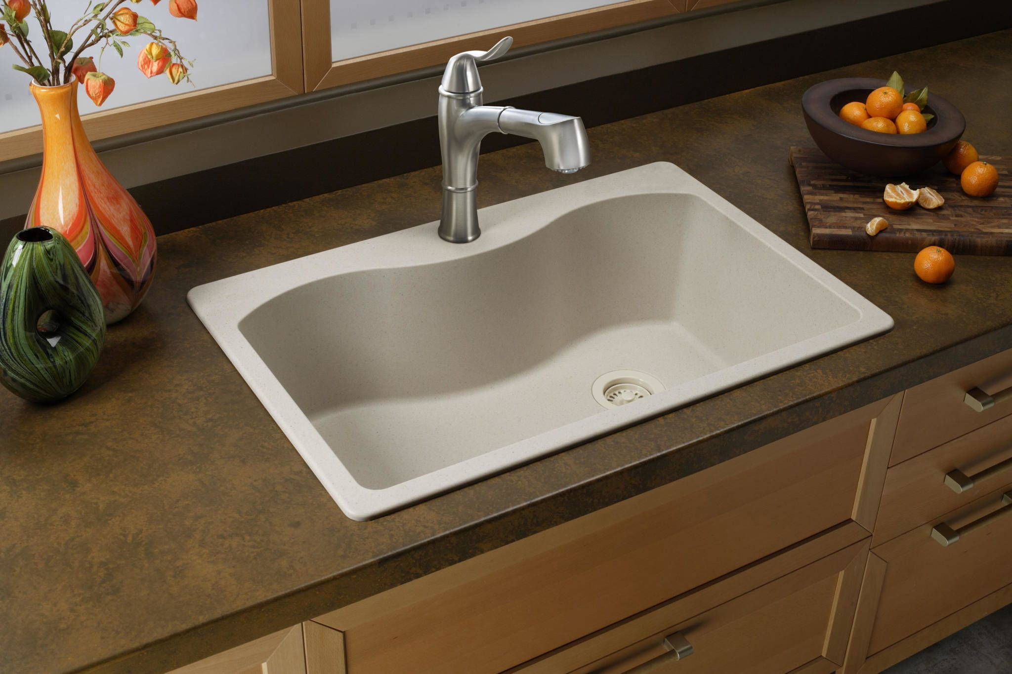 Chipped Quartz Countertop Repair Quartz Sinks Everything You Need To Know Qualitybath