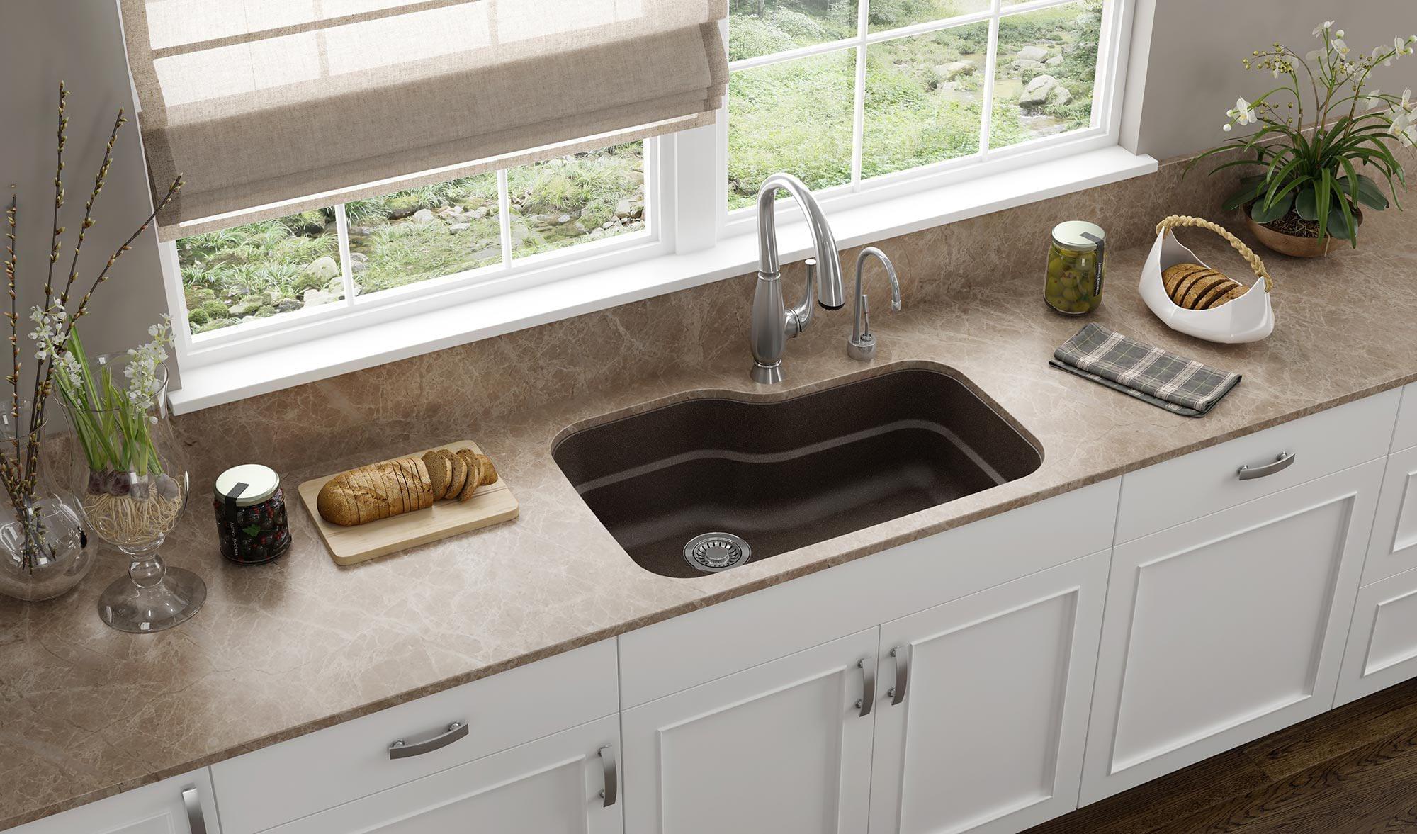 Franke orca 31 3 8 granite kitchen sink