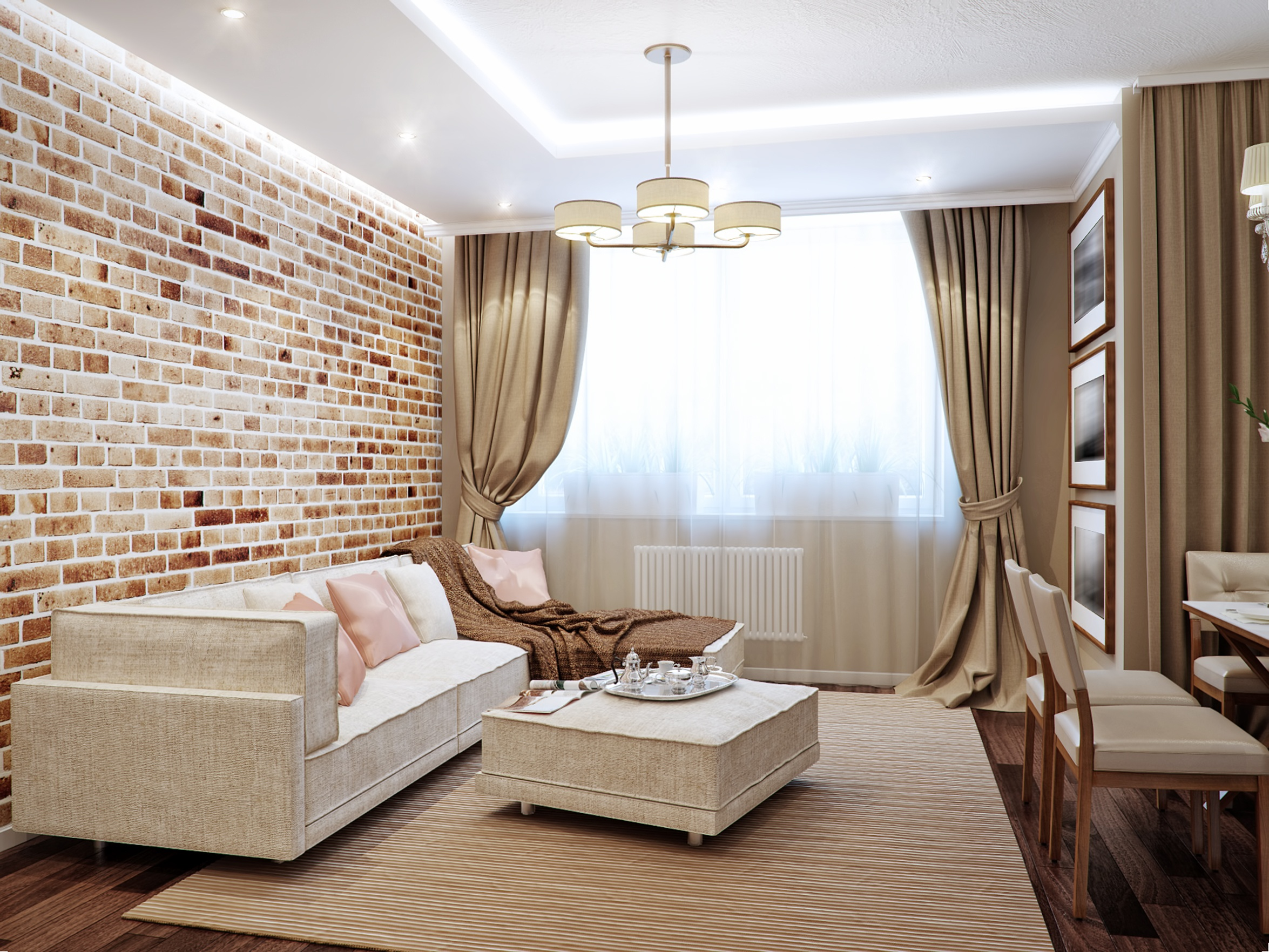 Adding Brick Wall Interior How To Add Color To The Decor Of Interior Brick Walls