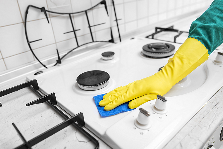 How To Clean Your Stove Top In 3 Easy Steps | Rent-A-Center