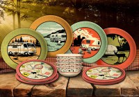 Camping, Tailgating and RV Dinnerware - Camp Casual