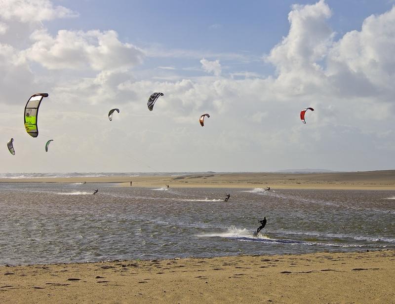 Windsurf na Foz do Arelho