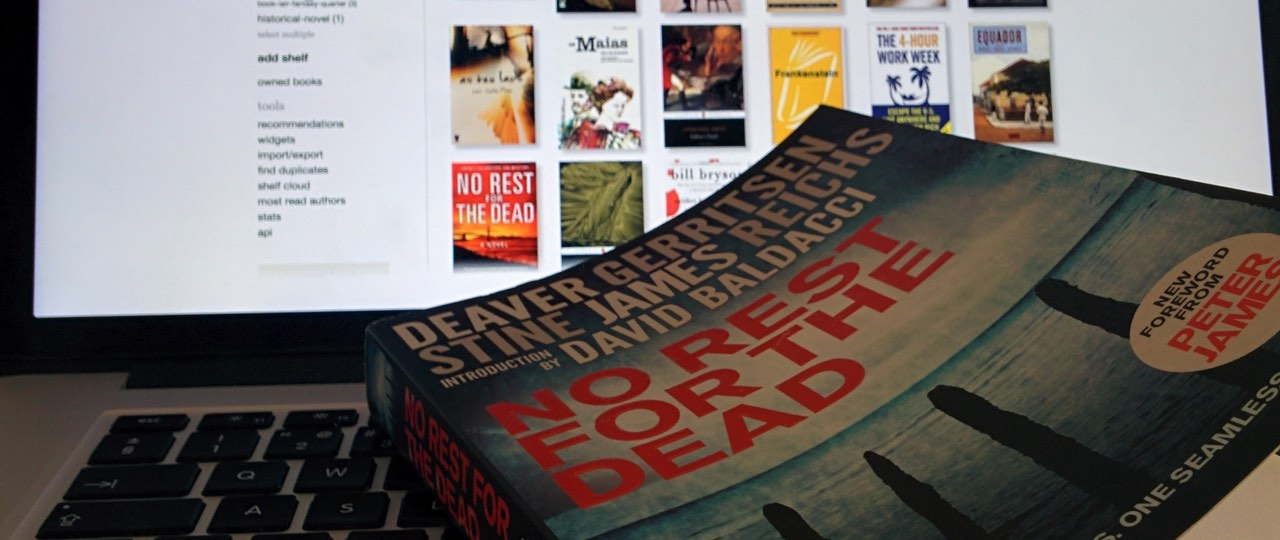 Review Livro - No Rest for the Dead