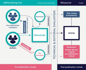 pre submission workflow diagram