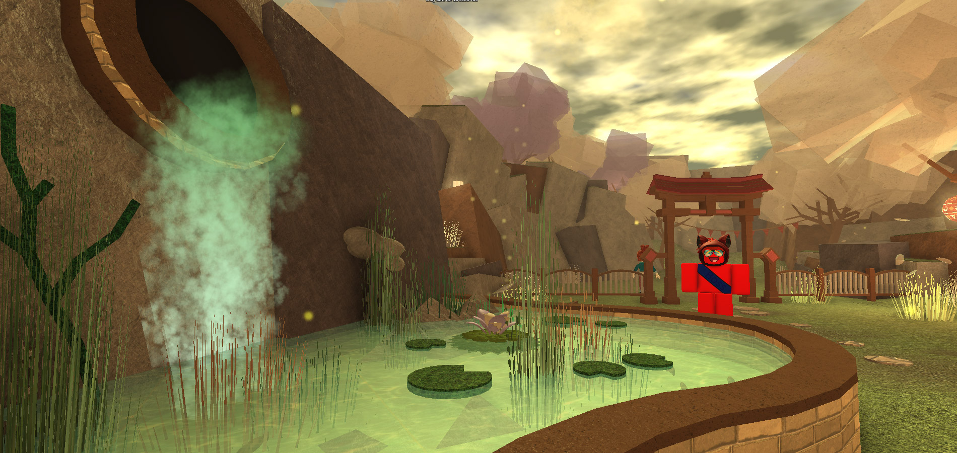 Wallpaper Falling Snow Game Creators Show The Power Of Custom Particles Roblox Blog