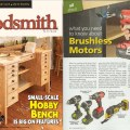 Woodsmith Magazine Features the Rockwell 20V Brushless Combo 1