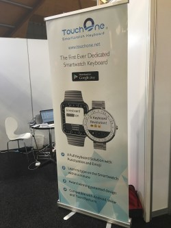 Poster of the first Smartwatch Keyboard