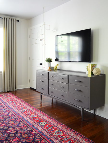 Clear the clutter how to hide TV wires and cords guest post from